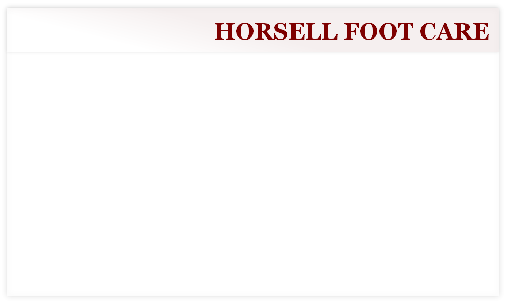 HORSELL FOOT CARE